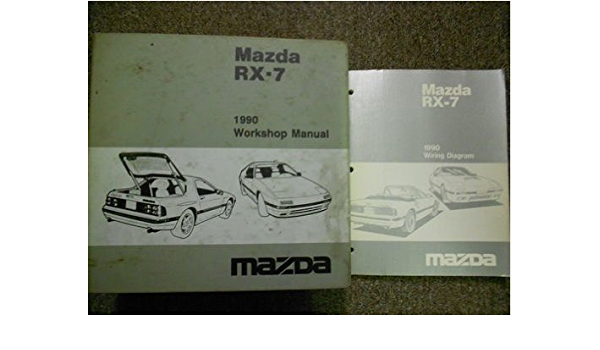 1990 Mazda Rx7 Rx 7 Service Repair Shop Manual Set Factory Oem Book 90 Mazda 1990 Mazda Rx 7 Service Repair Shop Manual 1990 Mazda Rx 7 Wiring Diagram Manual Mazda Amazon Com Books