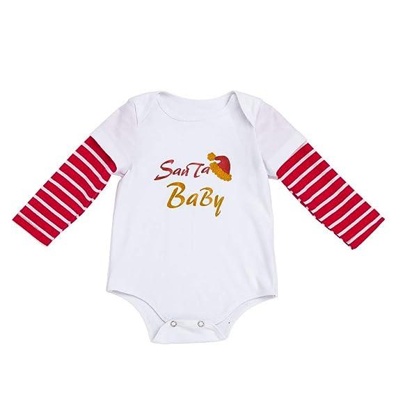 Disfraz Navidad Monos para Bebe Niñas 3 Meses-18 Meses Invierno 2018 PAOLIAN Mameluco Bodies