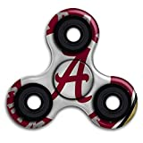 Fidget Spinner Alabama Crimson Logo Stress Reducer Relief Toys Perfect For ADHD EDC ADD Anxiety Autism And Boredom