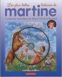 Martine Livres Cd Des Amours De Betes Livre Cd French