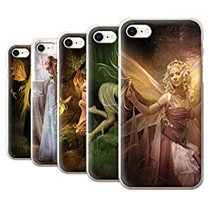 Official Elena Dudina Phone Case / Cover for Apple iPhone 8 / Pack 10pcs Design / Elegant Fairies Collection