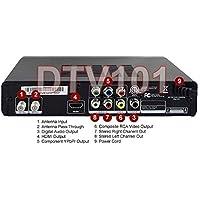 Premium ATSC Clear QAM TV Tuner + USB DVR Recording + HDMI YPbPr RCA A/V Outputs