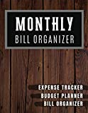 Monthly Bill Organizer: My monthly bill planner with income list,Weekly expense tracker ,Bill Planner, Financial Planning Journal Expense Tracker Bill ... Notebook (Financial Planner Budget Book)