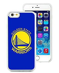 New Custom Design Cover Case For iPhone 6 4.7 Inch golden state warriors 6 White Phone Case