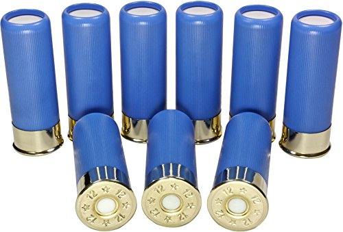 B's Dry Fire Snap Caps - Dummy 12 & 20 Gauge Training Rounds (9 Pack) (12 Ga Baby Blue 2 ¾