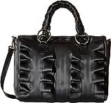 Harveys Seatbelt Bag Women's Lola Satchel Salvage Black Black Satchel