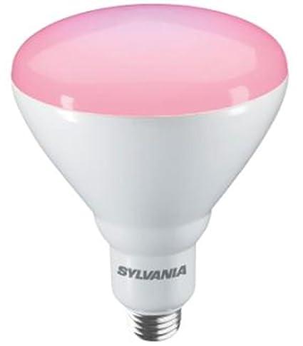 Sylvania LED Grow de Lux E27 Bombilla de Crecimiento flowering, IP44, 17 W,
