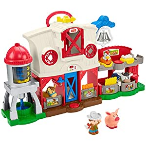 Best Epic Trends 51eYQVvNHJL._SS300_ Fisher-Price Little People Caring for Animals Farm