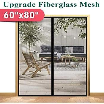 Magzo Magnetic Screen Door 60 X 80 Reinforced Fiberglass