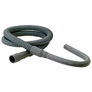 Eastman 60357 SD-Style Plastic Washing Machine discharge hose, 8 Ft, Gray
