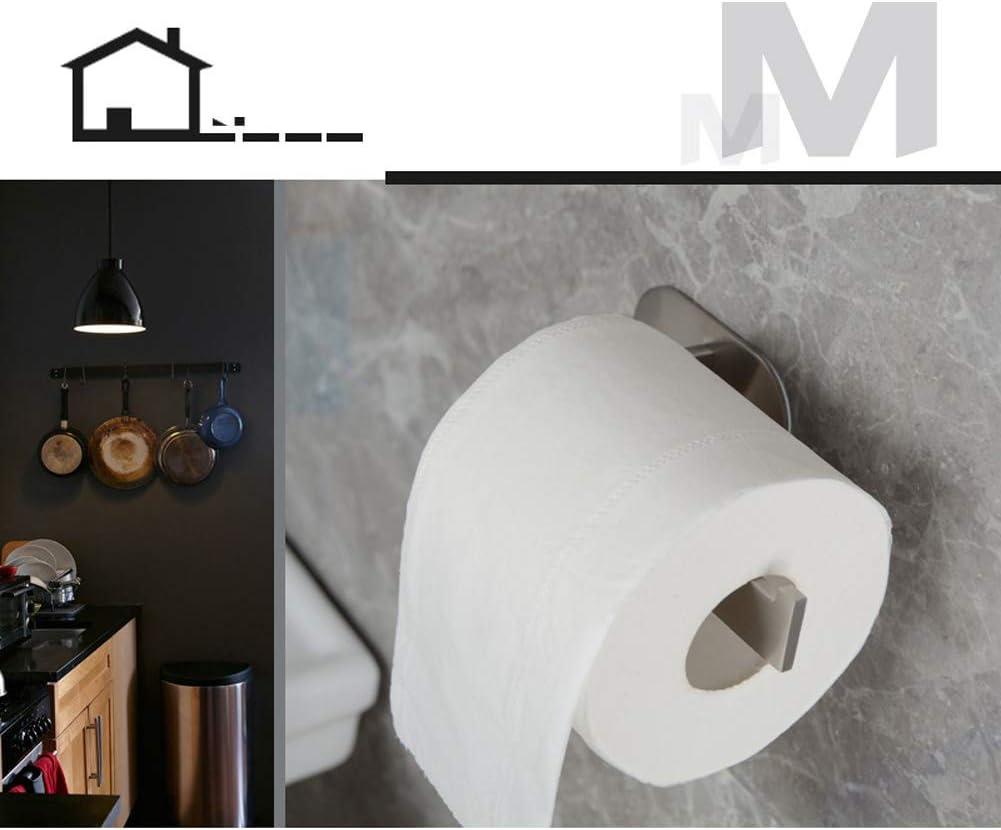 304 acciaio inox titolari di Progettazione YCFIRE Porta carta igienica in acciaio inox Porta rotolo carta igienica Adesivo da Parete per bagno e toilette