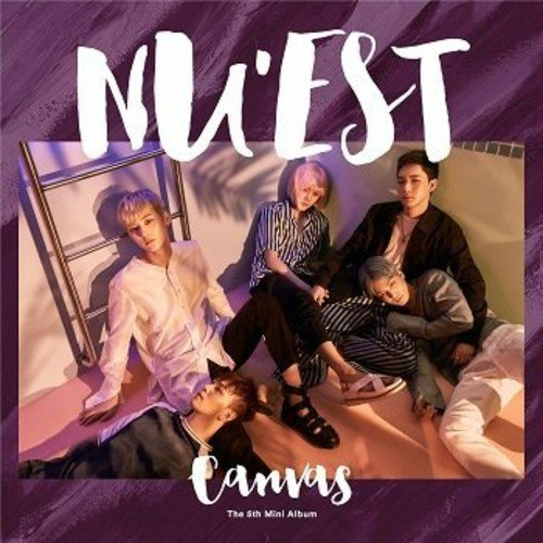 CD : Nu\'est - Canvas (Asia - Import)