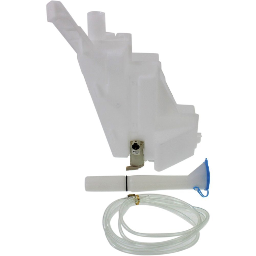 Windshield Washer Tank compatible with Nissan Altima 02-06 Assy W/Pump Inlet Cap And Sensor by Evan Fischer
