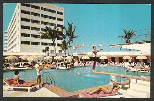 Ivanhoe by the Sea Oceanfront 101st St Bal Harbour Miami Beach FL postcard - Miami Harbour