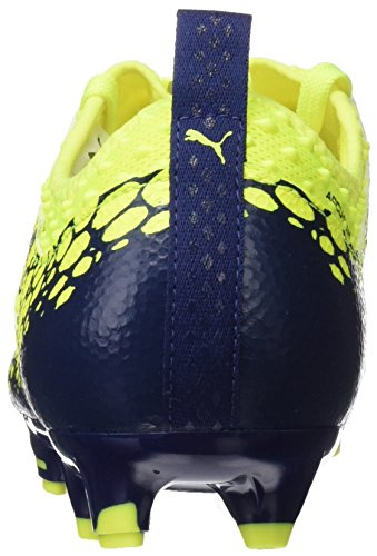 Zapatillas Fútbol Depths Evopower De Para Vigor Fg Yellow Puma Graphic silver 2 Amarillo Hombre safety blue qHX0wqg