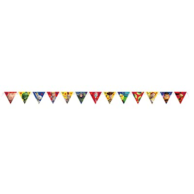 Unique Disney Toy Story 4 Large Jointed Party Banner, 1 Ct.: Toys & Games