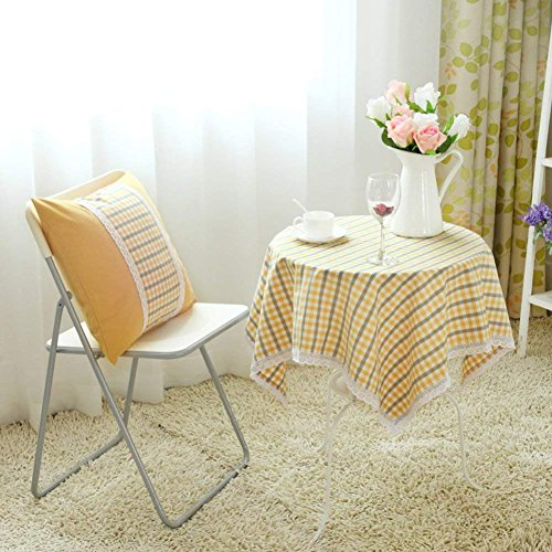 PQPQPQ Refrigerator cover night table cloth, garden flower head substance fences round table cloth, TV computer small towel coverage 130 x 190 cm (51 x 75-I ()