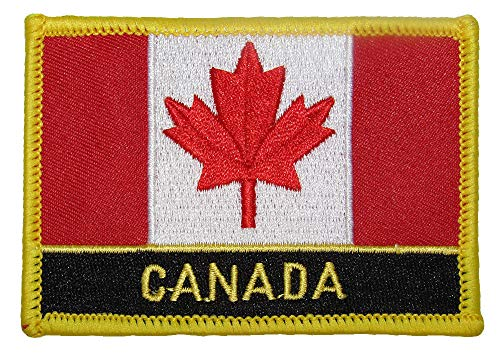 ALBATROS Canada Country Flag (6 Pack) Iron On Patch for Home and Parades, Official Party, All Weather Indoors Outdoors