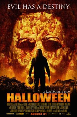 HALLOWEEN MOVIE POSTER Evil Has a Destiny RARE 24X36