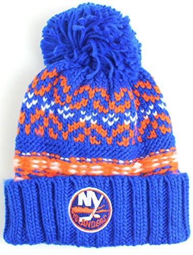 NHL American Needle Gusto Cuffed Pom Beanie Knit Hat (New York Islanders)