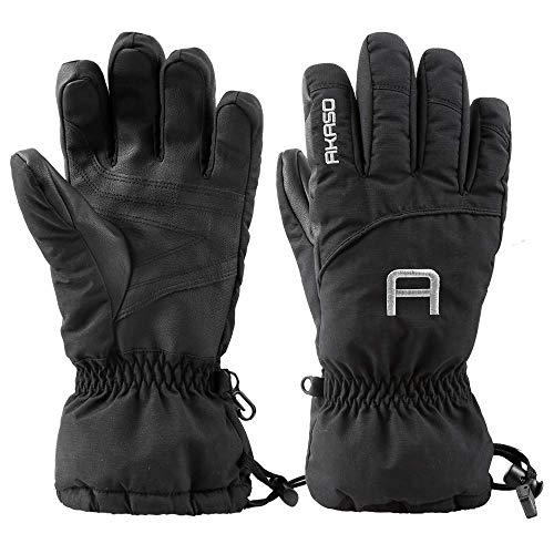 AKASO Ski Gloves Thinsulate Waterproof