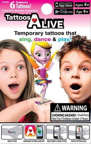 Tattoos Alive Airella The Fairy Tattoo Set