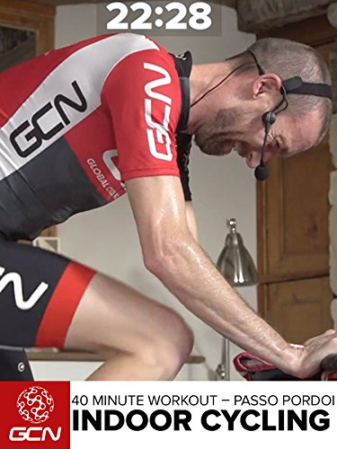 - Indoor Cycling - 40 Minute Workout - Passo Pordoi