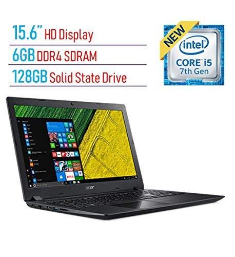 【保存版】 Acer Aspire A315 15.6-inch HD Graphics Display 802.11ac Laptop PC 7th HD Gen Intel i5-7200U 2.5GHz 6GB DDR4 SDRAM 128GB Solid State Drive Intel HD Graphics 620 802.11ac WiFi HDMI Webcam Windows 10 [並行輸入品] B07HRN82CJ, 天王寺区:ef13c6ce --- svecha37.ru