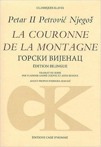 Livres gratuits en ligne La couronne de la montagne : Edition bilingue français-serbe pdf ebook
