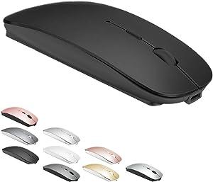 Bluetooth Mouse for MacBook pro/MacBook air/Laptop/iMac/ipad, Wireless Mouse for MacBook pro MacBook Air/iMac/Laptop/Notebook/pc (BT/Black)