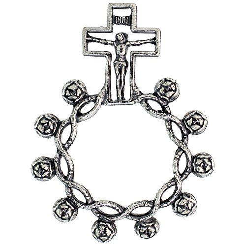 Sterling Silver Knotted Rosary Mystery