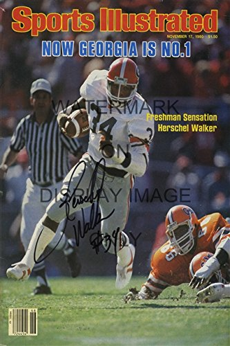 - Herschel Walker Sports Illustrated Poster