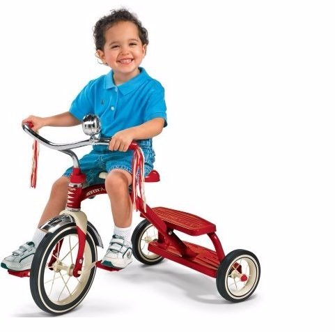 Tricycle For Kids,For Girls Or Boys|Red (Classic Red 12 Inch Tricycle)