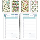Brownline 2017-2018 Daily Appointment Book/Academic Planner, August 2017 to July 2018, Tropical Designs, Assorted Designs, Design May Vary (CA201PA.ASX-18)