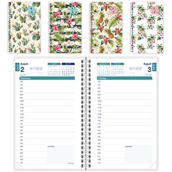 brownline 2017 2018 daily appointment bookacademic planner august 2017 to july 2018