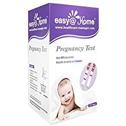 Easy@Home 25 Pregnancy (HCG) Urine Test Strips, 25 HCG Tests