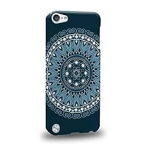 Case88 Premium Designs MANDALA Bewitched 0786 Carcasa/Funda dura para el Apple iPod Touch 5