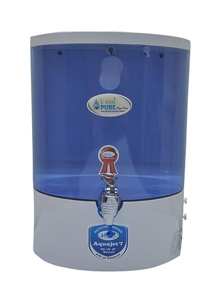 L'EAUPURE 7 Stage Dolphin RO+UV+Alkaline Water Purifier