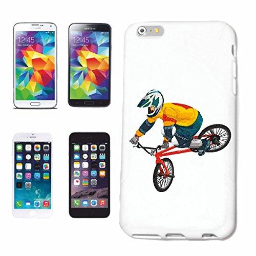 caja del teléfono iPhone 6S CICLISMO DE BICICLETA BMX freestyle motocross Chopper BICICLETA FREESTYLE Caso duro de la cubierta Teléfono Cubiertas cubierta para el Apple iPhone en blanco