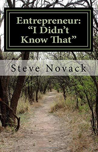 "Download Entrepreneur:  ""I Didn't Know That"" pdf"