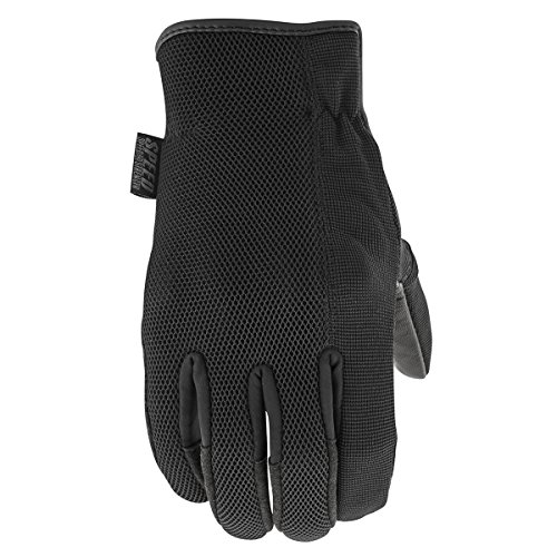 Speed and Strength Men's Last Man Standing Black Leather Gloves, L