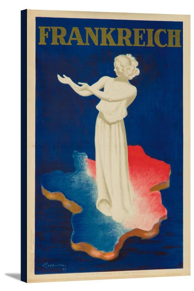 Frankreichヴィンテージポスター(アーティスト: Leonetto Cappiello )フランスC。1937 22 3/8 x 36 Gallery Canvas LANT-3P-SC-63923-24x36 22 3/8 x 36 Gallery Canvas  B0184AVJTI