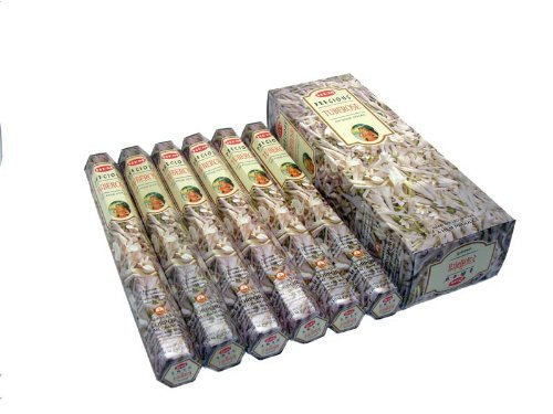 Precious Tube Rose - 120 Sticks Box - Hem (Gulab Incense)