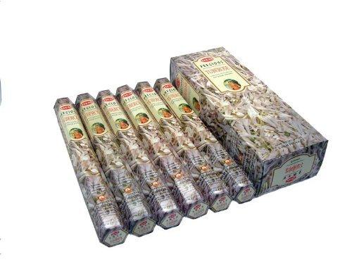 - Precious Tube Rose - 120 Sticks Box - Hem Incense