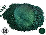 Eye Candy Pearls 25gr Dark Ocean Green Mica Powder Pigments (Resin, Paint, Epoxy, Soaps, Nail Polish, Liquid Wraps)