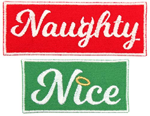 (Santa's List 2 Iron-On Patch Pack: Naughty Patch 4