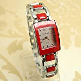 Watch Magasin New Arrival Brand Gold&Amp;Silver Band Watch Women Ladies Fashion Crystal Dress Quartz Wristwatches Go098