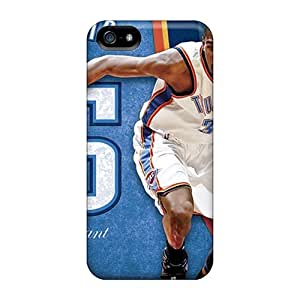 Excellent Design Oklahoma City Thunder Phone Case For Iphone 5/5s Premium Tpu Case