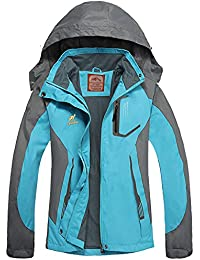 Waterproof Rain Jackets Women Lightweight Ladies Jacket Hood Softshell Coat Hiking