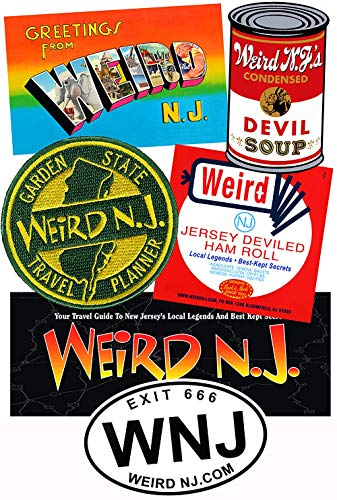 (The Jersey Pride Pack: NEW Weird NJ Magnets, Patches &)